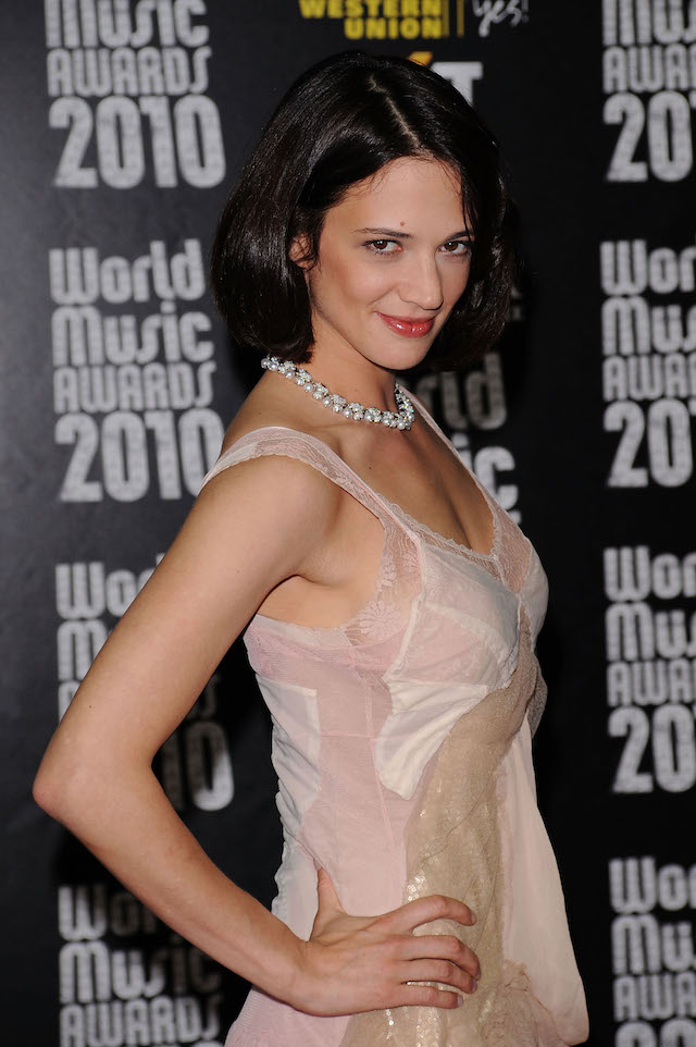 Asia Argento attends the World Music Awards 2010 at the Sporting Club on May 18, 2010 in Monte Carlo, Monaco. (Photo: Getty Images)