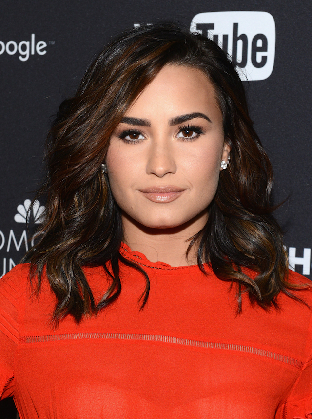 Singer Demi Lovato attends the 2016 Global Citizen Festival In Central Park To End Extreme Poverty By 2030 at Central Park on September 24, 2016 in New York City. (Photo by Noam Galai/Getty Images for Global Citizen)