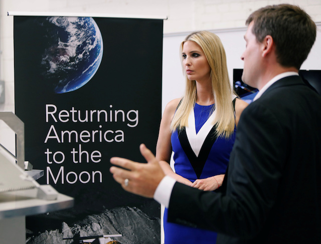 Ivanka Trump tours the Astrobotic Technology facility in Pittsburgh, Pennsylvania, U.S., August 14, 2018. REUTERS/Jason Cohn