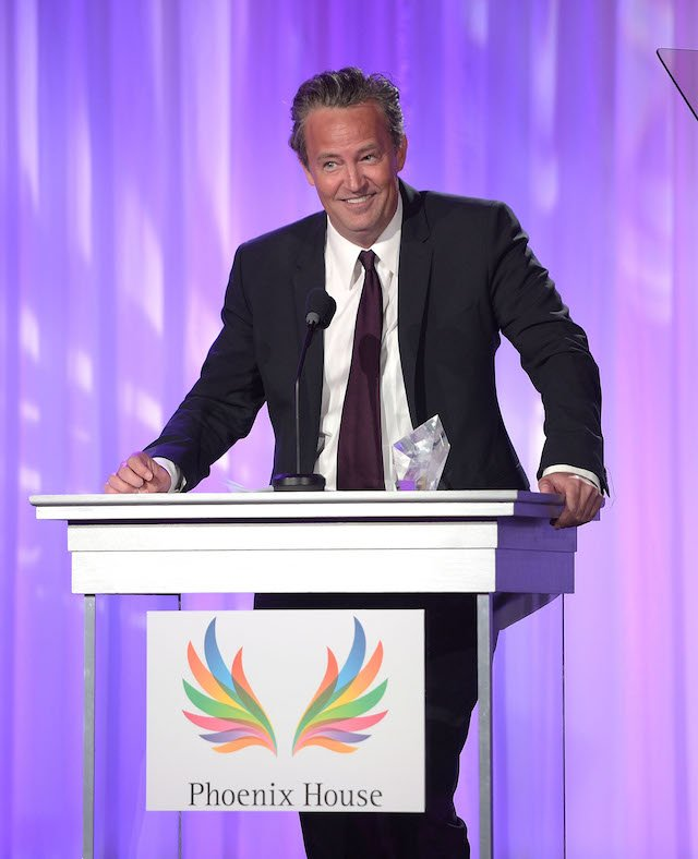Actor Matthew Perry attends Phoenix House's 12th Annual Triumph For Teens Awards Gala at the Montage Beverly Hills on June 15, 2015 in Beverly Hills, California. (Photo by Jason Kempin/Getty Images)