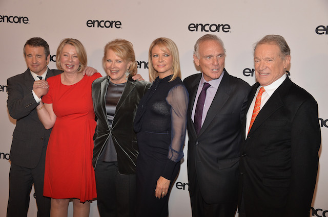 Murphy Brown crew at Museum of Modern Art on December 11, 2013 in New York City. (Photo: Getty Images)