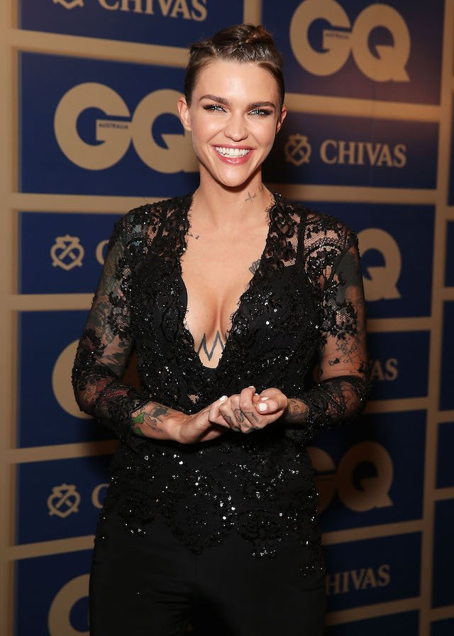 Ruby Rose arrives ahead of the 2015 GQ Men Of The Year Awards on November 10, 2015 in Sydney, Australia. (Photo by Brendon Thorne/Getty Images)