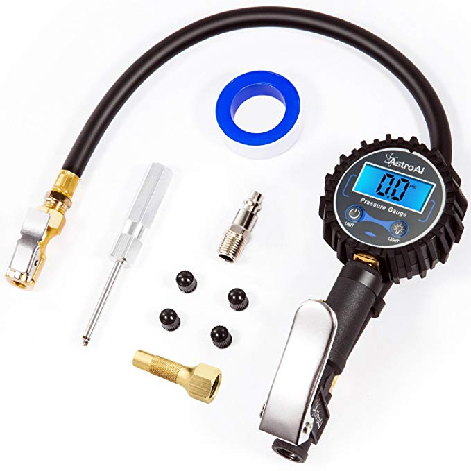 Normally $50, this #1 bestseller digital tire inflator with pressure is 60 percent off today (Photo via Amazon)