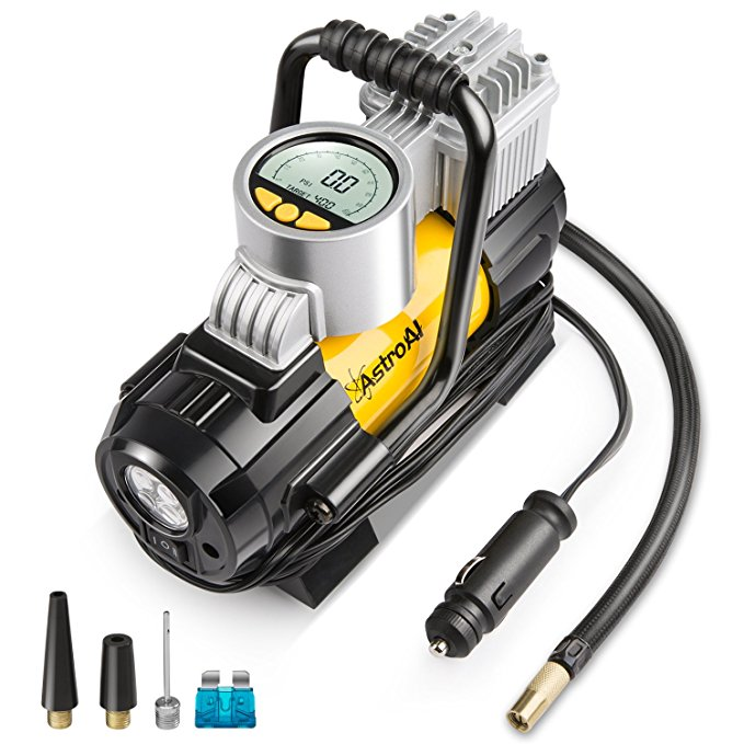 Normally $60, this #1 bestselling portable air compressor pump is 51 percent off today (Photo via Amazon)