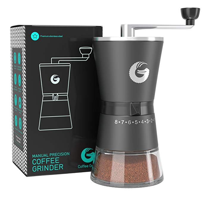 Normally $80, this burr grinder is 58 percent off today (Photo via Amazon)