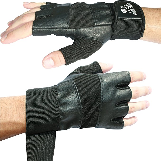 Normally $40, these weight lifting gloves is 70 percent off today (Photo via Amazon)