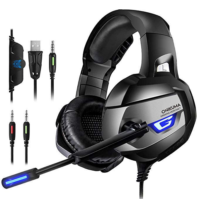 Normally $28, this gaming headset is 49 percent off with this code (Photo via Amazon)