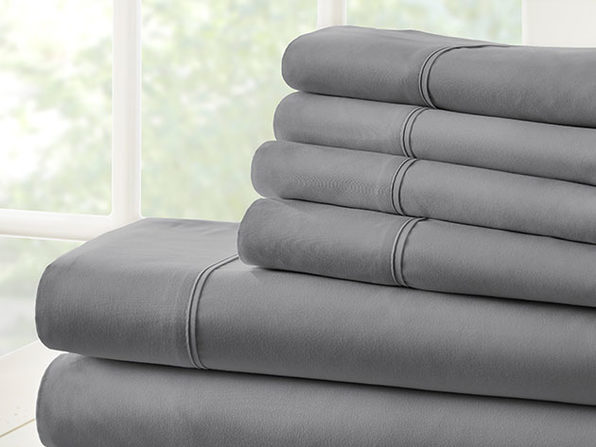 Normally $100, this 6-piece sheet set is 71 percent off
