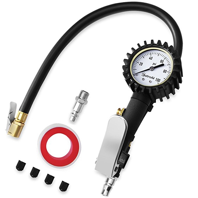 Normally $23, this tire inflator is 35 percent off today (Photo via Amazon)