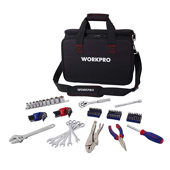 Normally $80, this 143-piece tool kit is 50 percent off today (Photo via Amazon)