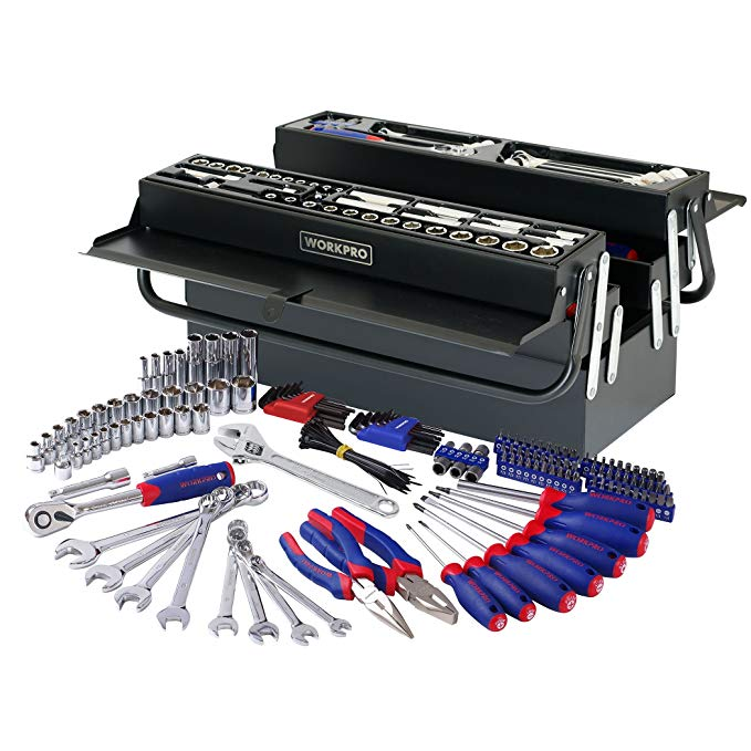 Normally $100, this 183-piece tool set is 25 percent off (Photo via Amazon)