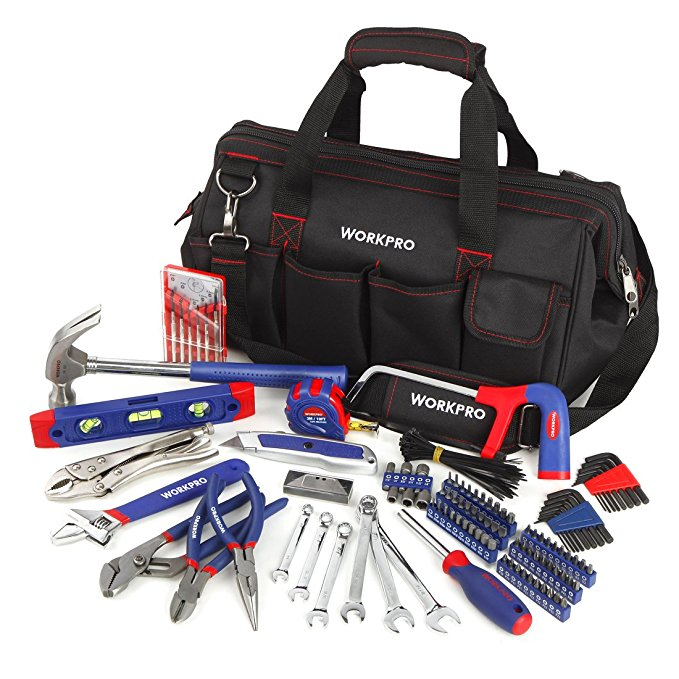 Normally $60, this 156-piece tool set is 25 percent off today (Photo via Amazon)