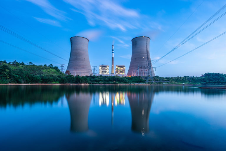 Nuclear Plant. Shutterstock