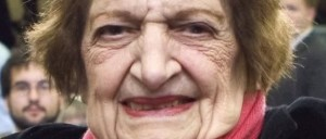 Q: Why did Helen Thomas cross the road? A: Because it had just been invented.
